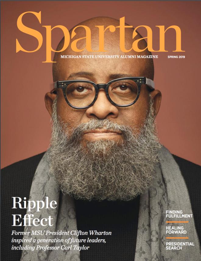 Spartan Magazine Spring 2019 Cover